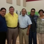 Popular singer, Reid Soria of Autism Sings LLC, and his parents, joined the owners of Conexión at FFC.