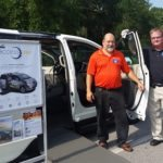 Ready Cars, located at the corner of Beal Pkwy and Mary Esther, showing off their special needs equipped Van.  They also have other used vehicles.  Go check them out!