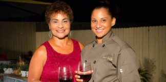 Diana Oliver (left), D & J Oasis was the host of the social and Carmen Smith (Carmen's Table - Private Dinners) was the official caterer.